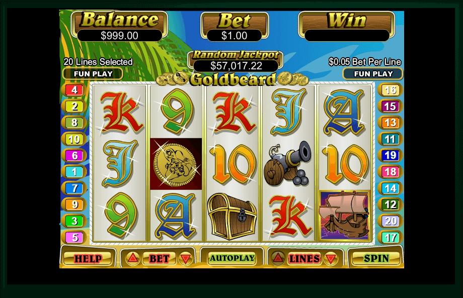 Goldbeard slot play free