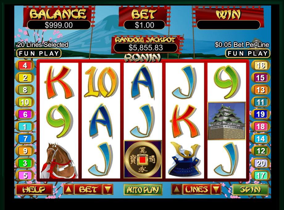 Free Online Slots Ronin