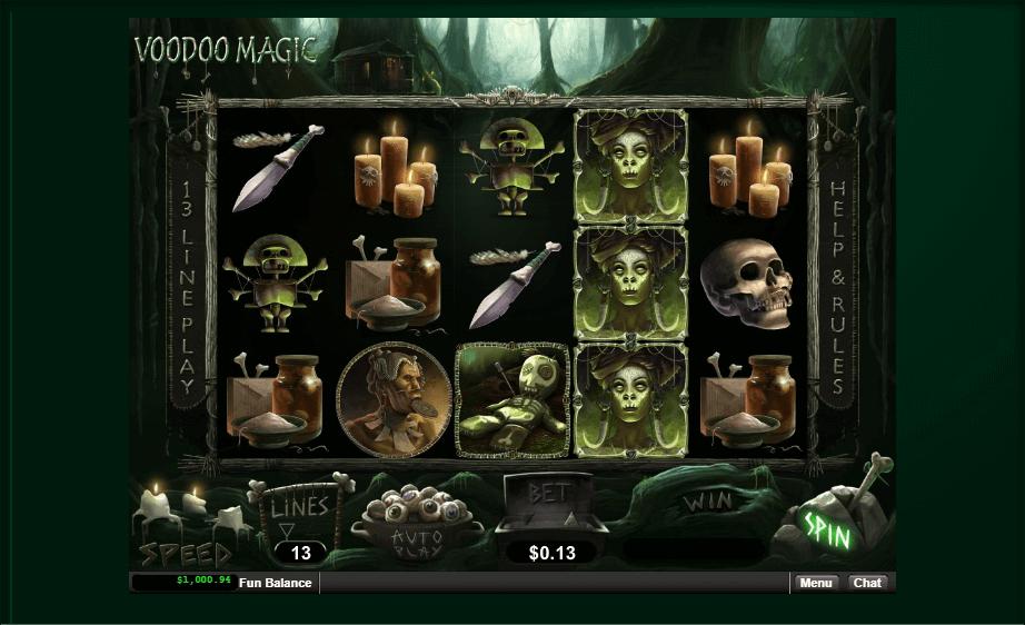 Play Voodoo Magic Slot Machine Free With No Download
