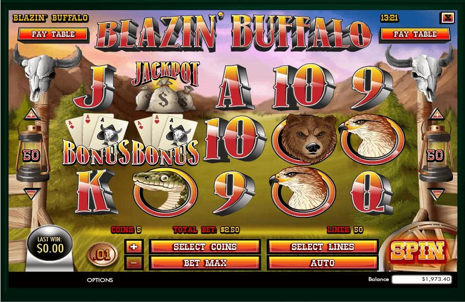 Blazin Buffalo slot play free