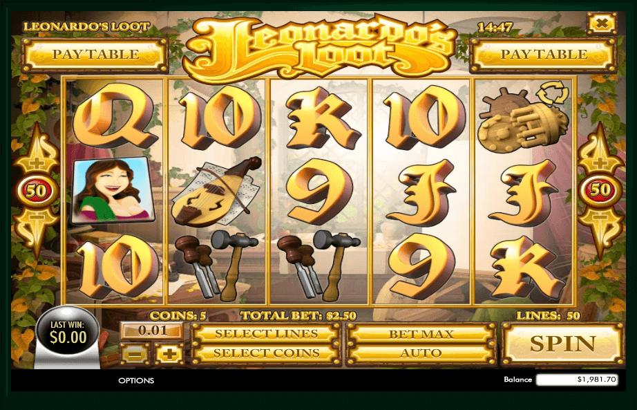 Play LeonardoS Loot Slot Machine Free With No Download