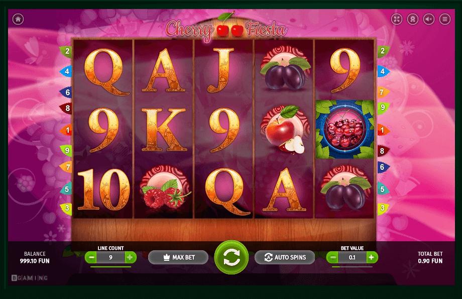 Cherry Fiesta slot machine screenshot