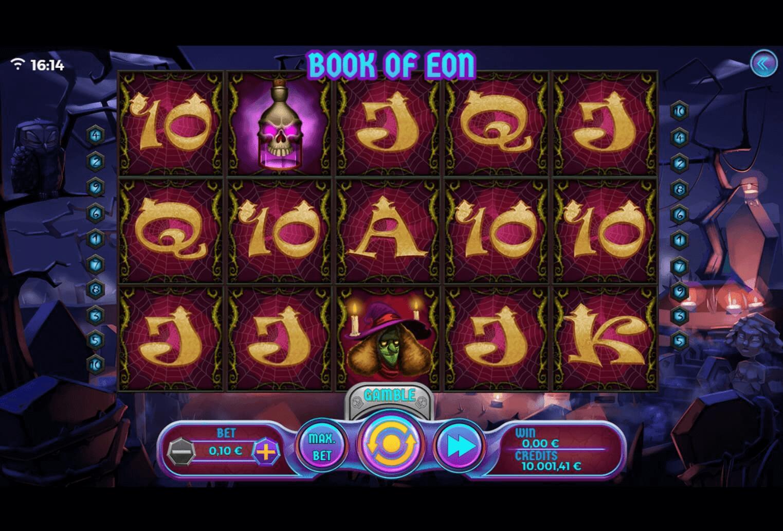Book of Eon slot machine screenshot
