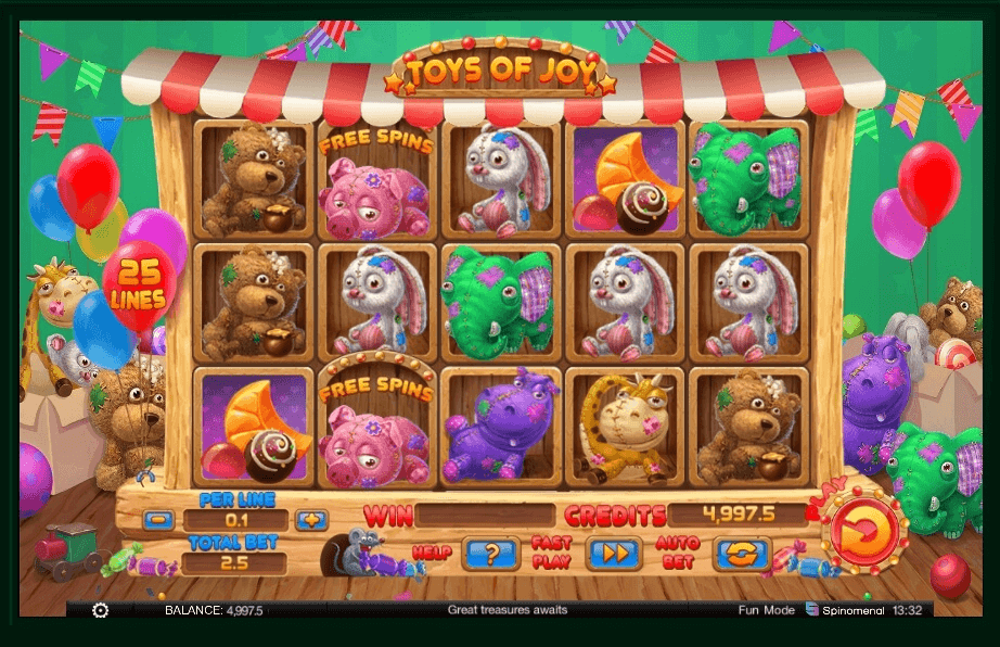 Toys Of Joy Slot Machine