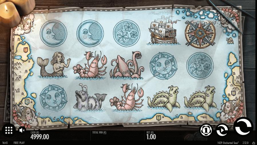 1429 Uncharted Seas Slot Machine