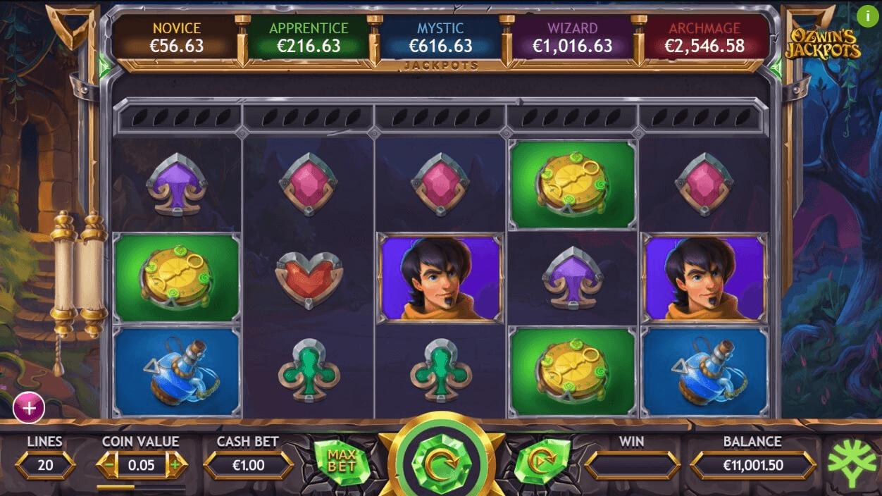 New Ozwins Jackpots Slot at Yggdrasil Casinos