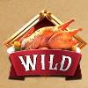 roasted turkey: wild symbol - a christmas carol