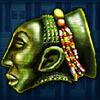 green mask - african magic