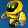 yellow robot - alien robots