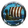viking ship - arctic fortune