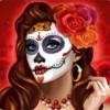 brown-haired woman - beautiful bones