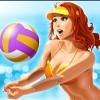 the girl who chops the ball - bikini party