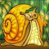 snail - cashapillar