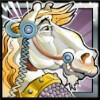 horse - chain mail
