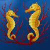 sea horses - dolphin quest