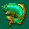 a fish - lucky coin