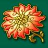 flower - lucky coin