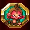 monkey: wild symbol - lucky zodiac
