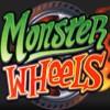 monster wheels logo: wild symbol - monster wheels