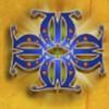 blue pattern: a scatter symbol - mystic monkeys