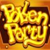 pollen party logo: wild symbol - pollen party