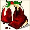 christmas cake - santa's wild ride