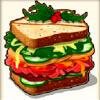 appetizing hamburger - santa's wild ride