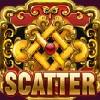 golden weave: a scatter symbol - serenity