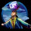 acrobat with a vase on his head - six acrobats