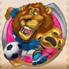 a lion - soccer safari