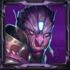 purple alien - super heroes